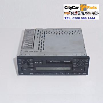 VOLKSWAGEN POLO GOLF PASSAT GAMMA RADIO & CASSETTE UNIT UNMARRIED WITH CODE 1J0035186D